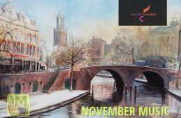 Радио Concertzender November Music, Утрехт, Нидерланды