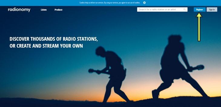Создать радио бесплатно, хостинг радио, слушать радио онлайн